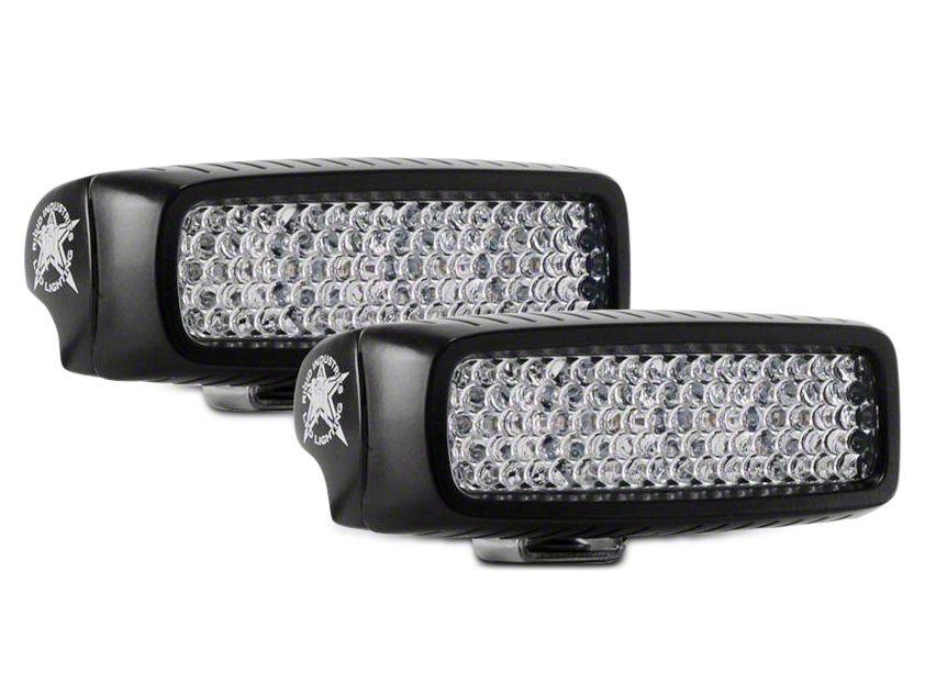 Rigid Industries SR-Q Series Backup Light Kit - 60 Degree Diffused (87-18 Jeep Wrangler YJ, TJ, JK & JL)
