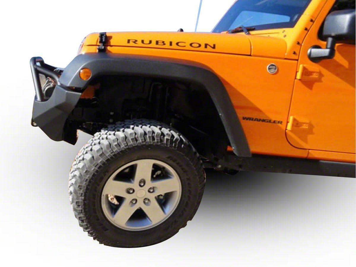 M.O.R.E. Full Width Rock Proof Hi-Clearance Front Bumper w/o Tube Work - Bare Steel (07-18 Jeep Wrangler JK)