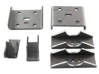 M.O.R.E. Spring Over Kit for Dana 35 Axle (87-18 Jeep Wrangler YJ, TJ & JK)