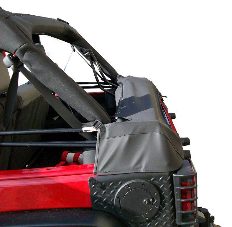 Rugged Ridge Soft Top Storage Boot - Diamond Black (07-18 Jeep Wrangler JK 4 Door)