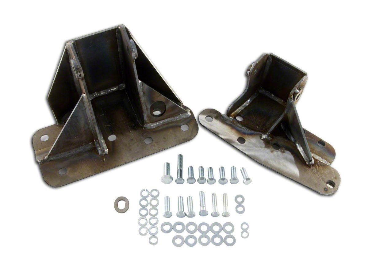 M.O.R.E. Bomb Proof Engine Block Brackets (97-99 4.0L Jeep Wrangler TJ)