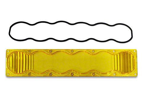 Baja Designs OnX6 Amber Lens Kit - Driving/Combo Beam (87-19 Jeep Wrangler YJ, TJ, JK & JL)