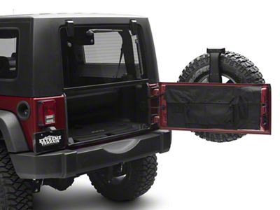 Rugged Ridge C3 Tailgate Cover (07-18 Jeep Wrangler JK)