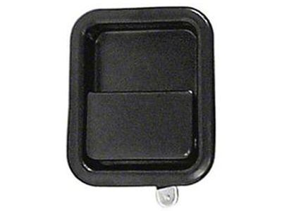 Omix-ADA Black Full Steel Door Paddle Handle (87-95 Jeep Wrangler YJ RH, 97-06 Jeep Wrangler TJ LH)