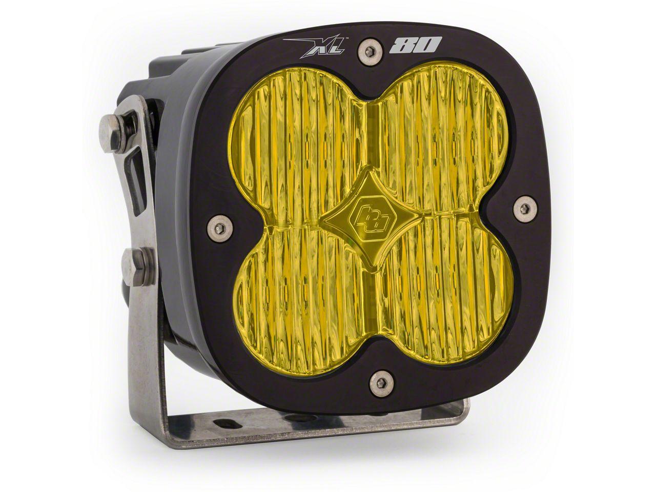 Baja Designs XL80 Amber LED Light - Wide Cornering Beam