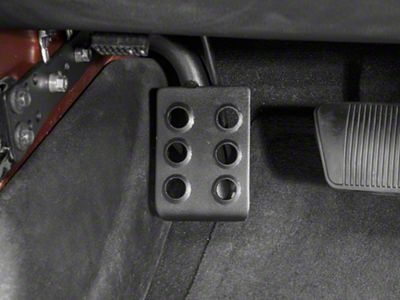RedRock 4x4 Dead Pedal - Driver Side (07-18 Jeep Wrangler JK w/ Automatic Transmission)