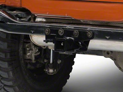 Rugged Ridge Black Hitch Kit 2000-3500lbs. (07-18 Jeep Wrangler JK)