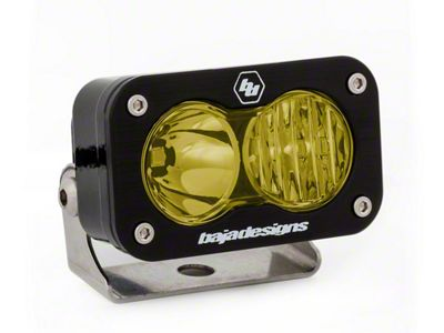 Baja Designs S2 Amber Pro LED Light - Driving/Combo Beam