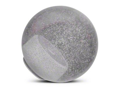 Alterum Clear Metal Flake Shift Knob (97-06 Jeep Wrangler TJ)