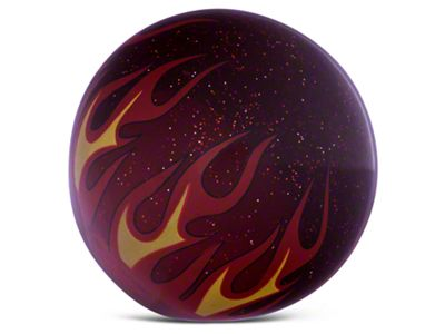 RedRock 4x4 Red Flame Metal Flake Shift Knob (97-06 Jeep Wrangler TJ)