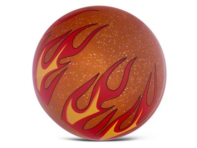 Alterum Orange Flame Metal Flake Shift Knob (97-06 Jeep Wrangler TJ)
