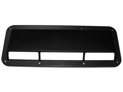 Rugged Ridge Black Plastic Air Scoop (87-95 Jeep Wrangler YJ)