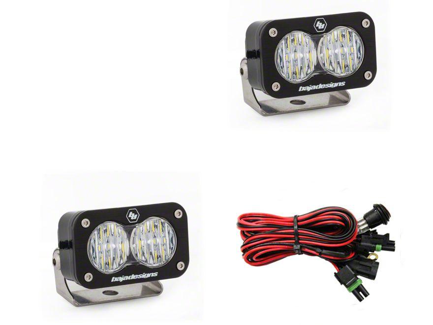 Baja Designs S2 Pro LED Light - Wide Cornering Beam - Pair