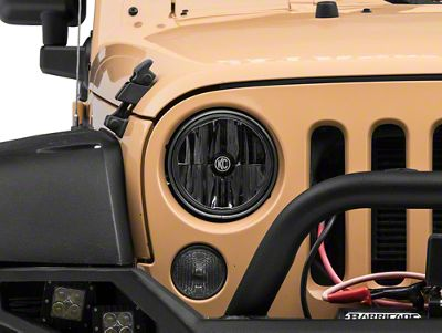 KC HiLiTES 7 in. Gravity LED Headlight (07-18 Jeep Wrangler JK)