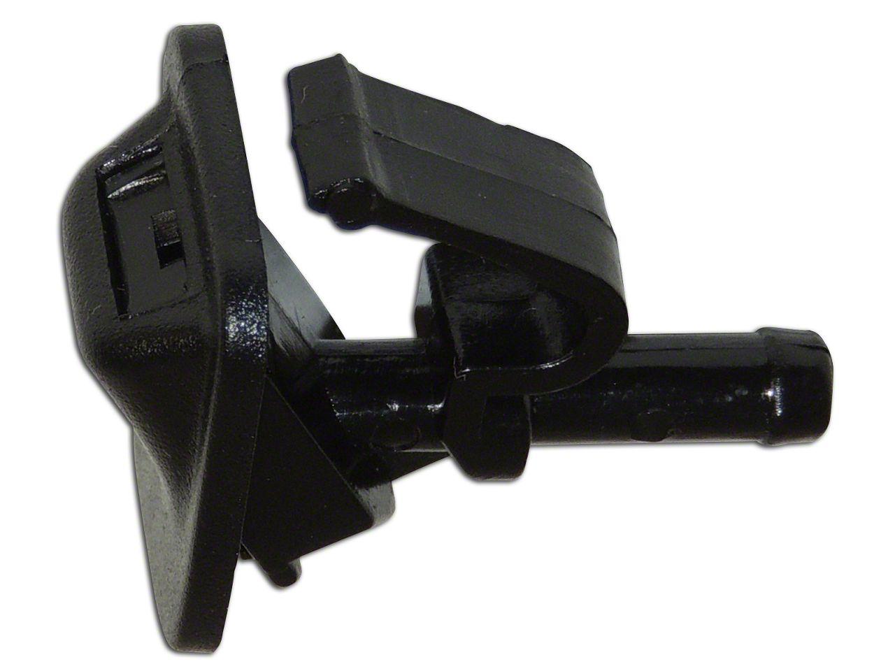 Omix-ADA Windshield Washer Nozzle (01-12 Jeep Wrangler TJ & JK)