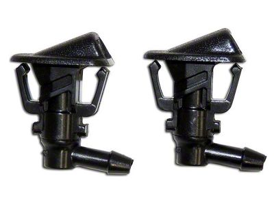 Crown Automotive Windshield Washer Nozzle Set (13-18 Jeep Wrangler JK)