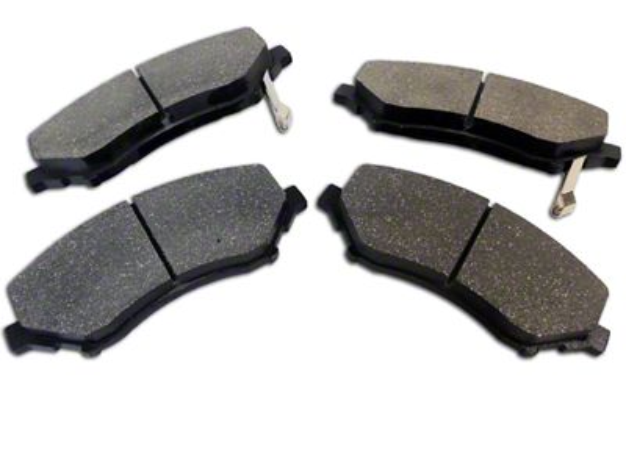 Omix-ADA Brake Pads - Front Pair (07-18 Jeep Wrangler JK)