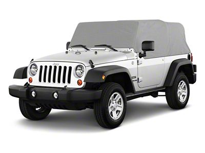 RT Off-Road Cab Cover - Gray (92-06 Jeep Wrangler YJ & TJ, Excluding Unlimited)