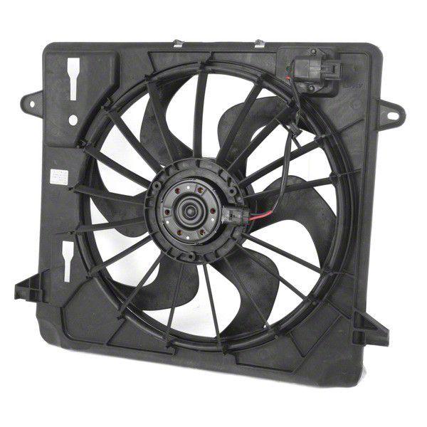 Omix-ADA Cooling Fan Module (07-11 3.8L Jeep Wrangler JK)