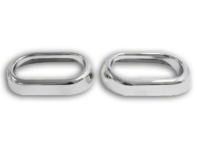 RT Off-Road Door Handle Accents - Chrome (07-10 Jeep Wrangler JK)