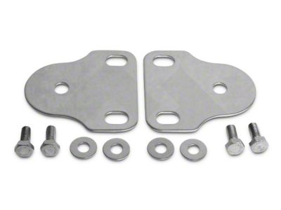 RT Off-Road Interior Windshield Mount Brackets - Stainless (87-95 Jeep Wrangler YJ)