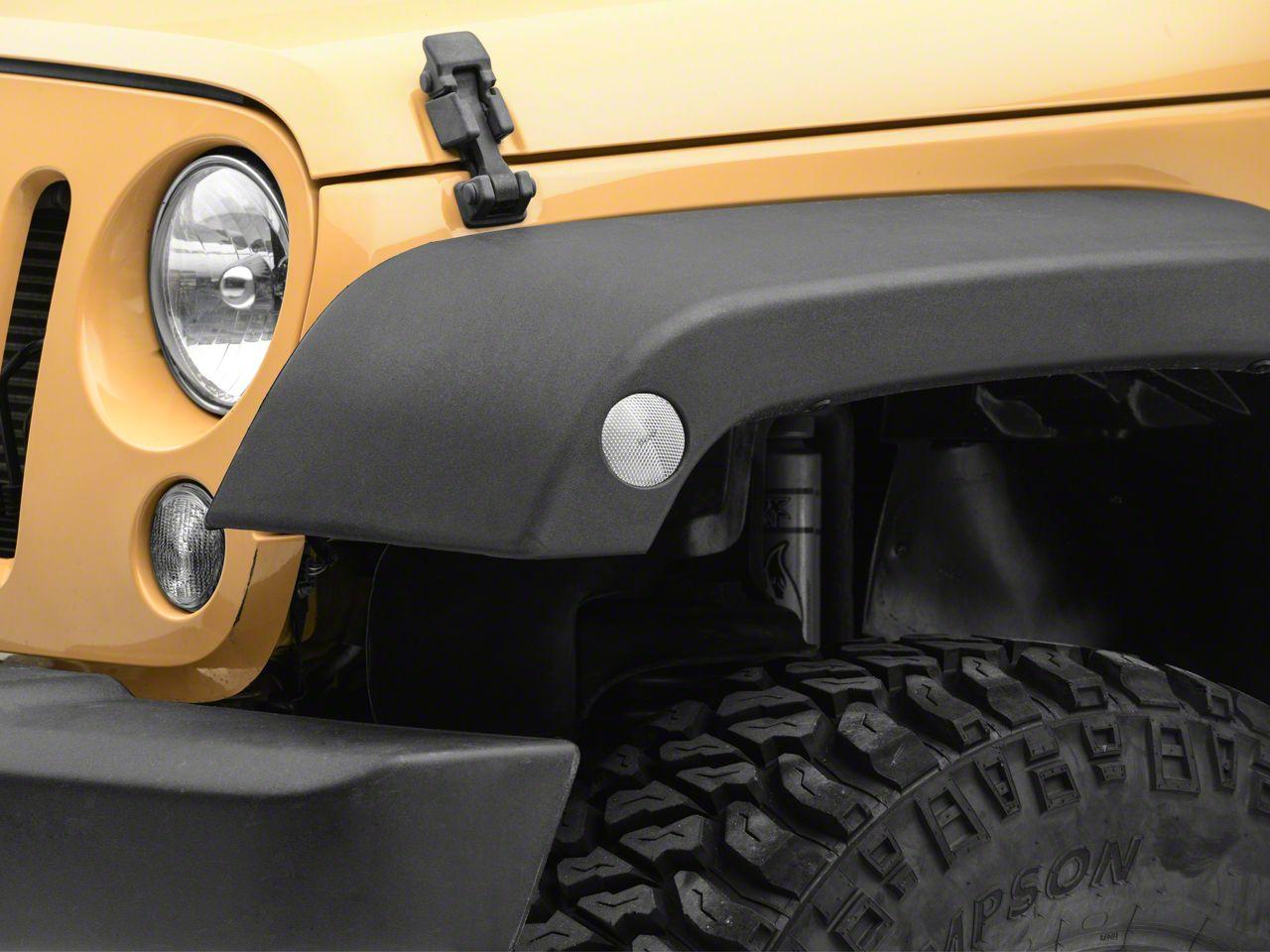 RT Off-Road Side Marker Light Kit - Clear (07-18 Jeep Wrangler JK)