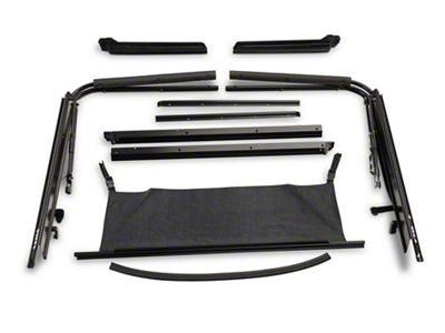 RT Off-Road Soft Top Hardware Kit (87-95 Jeep Wrangler YJ)