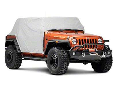 RT Off-Road Waterproof Cab Cover - Gray (07-18 Jeep Wrangler JK 4 Door)