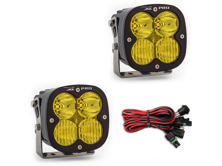 Baja Designs XL Pro Amber LED Light - Driving/Combo Beam - Pair