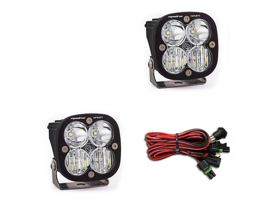 Baja Designs Squadron Sport LED Light - Driving/Combo Beam - Pair