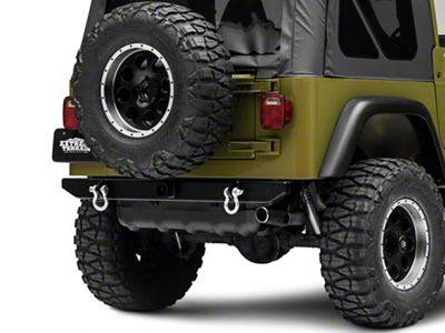 LoD Offroad Xtreme Duty Rear Bumper - Textured Black (97-06 Jeep Wrangler TJ)