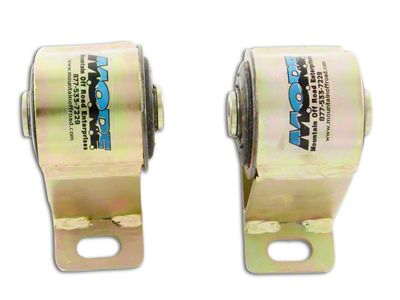 M.O.R.E. Bomb Proof Motor Mounts for 1 in. Body Lift (87-90 2.5L Jeep Wrangler YJ)