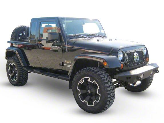 Royalty Core RC1 Chrome War Star Grille - Black (07-18 Jeep Wrangler JK)