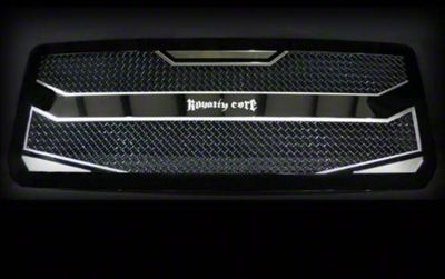 Royalty Core RC4 Layered Grille - Black (07-18 Jeep Wrangler JK)
