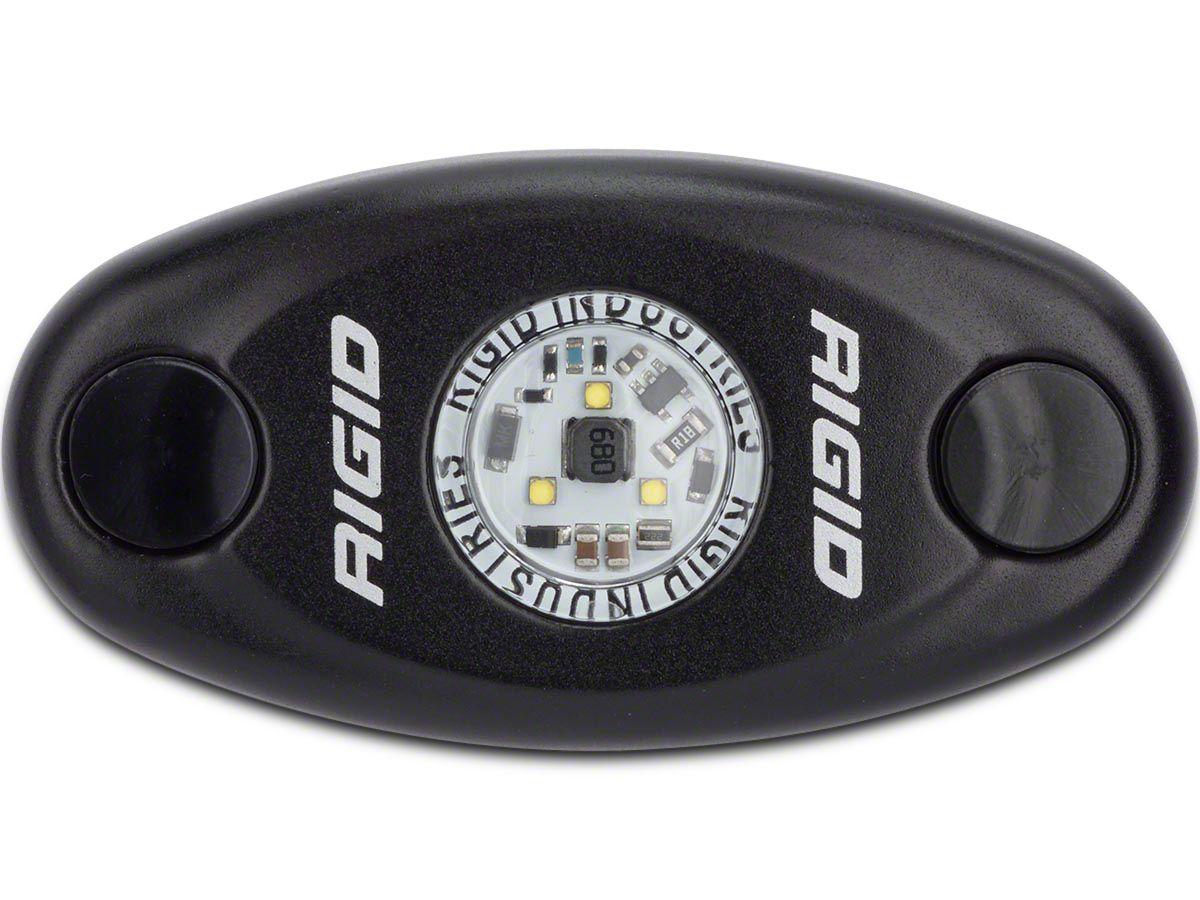 Rigid Industries Black A-Series High Power LED Light - Cool White