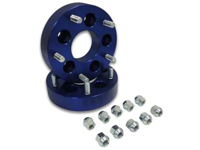 RT Off-Road 1.5 in. Blue Wheel Adapters - 5x4.5 to 5x5.5 (87-06 Jeep Wrangler YJ & TJ)