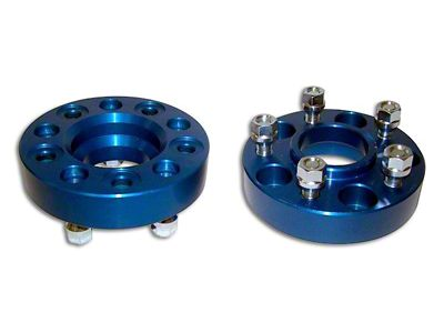 RT Off-Road 1.5 in. Blue Wheel Spacers (87-06 Jeep Wrangler YJ & TJ)
