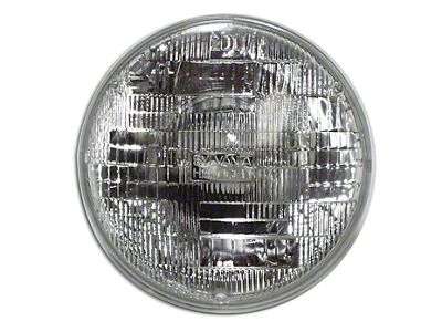 Crown Automotive 7 in. Round Headlight - Blue (97-06 Jeep Wrangler TJ)