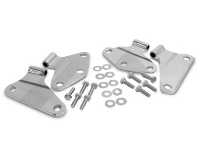 RT Off-Road Body Door Hinge Set - Stainless (07-18 Jeep Wrangler JK 2 Door)