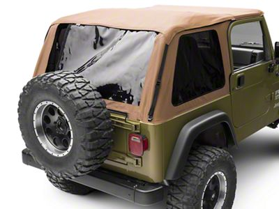 RT Off-Road Bowless Soft Top w/ Tinted Windows - Spice Diamond (97-06 Jeep Wrangler TJ, Excluding Unlimited)