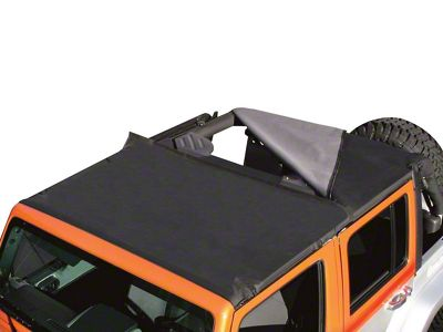 RT Off-Road Combo Beach Topper - Black Denim (97-06 Jeep Wrangler TJ, Excluding Unlimited)
