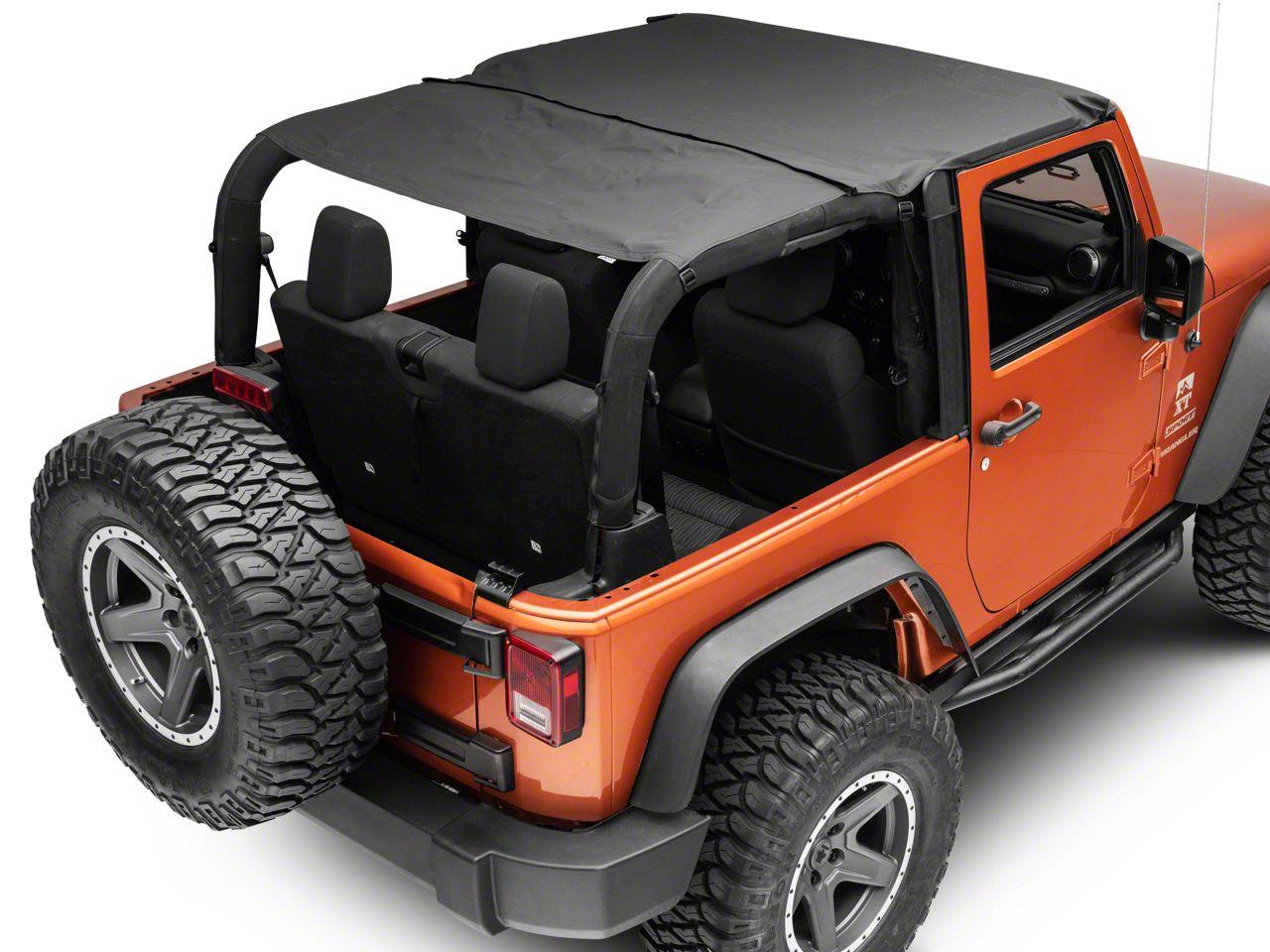 RT Off-Road Combo Beach Topper - Black Diamond (07-18 Jeep Wrangler JK 2 Door)