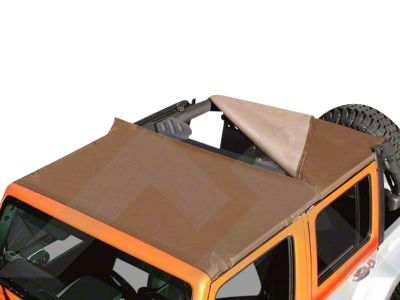 RT Off-Road Combo Beach Topper - Spice (97-06 Jeep Wrangler TJ, Excluding Unlimited)
