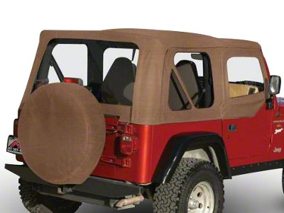 RT Off-Road Complete Soft Top - Spice Denim (97-06 Jeep Wrangler TJ w/ Full Steel Doors, Excluding Unlimited)