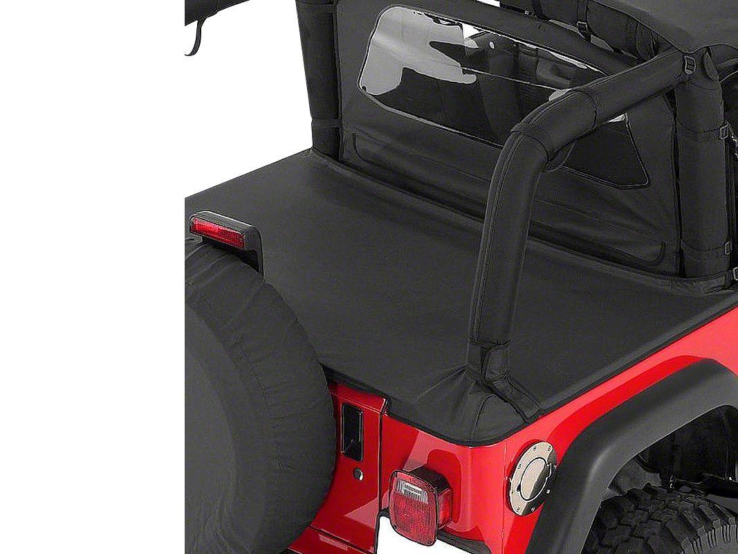RT Off-Road Cover All Kit - Black Denim (87-91 Jeep Wrangler YJ)