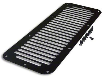 RT Off-Road Cowl Vent Cover - Black (87-95 Jeep Wrangler YJ)