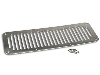 RT Off-Road Cowl Vent Cover - Stainless (87-95 Jeep Wrangler YJ)