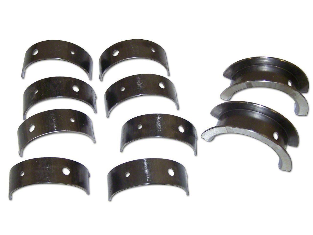 Crown Automotive Crankshaft Main Bearing Set - 0.25mm Undersize (03-06 2.4L Jeep Wrangler TJ)