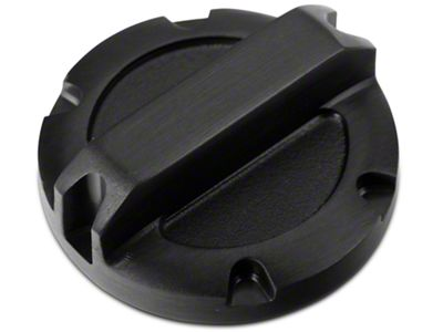 Rugged Ridge Black Billet Aluminum Brake Master Cylinder Cap (97-19 Jeep Wrangler TJ, JK & JL)
