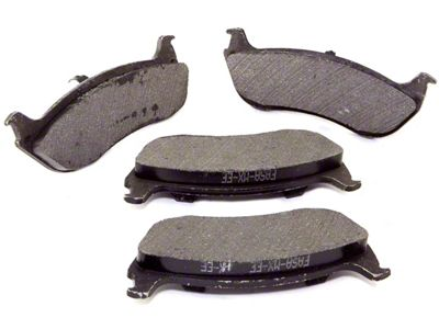 Omix-ADA Disc Brake Pads - Rear Pair (03-06 Jeep Wrangler TJ)